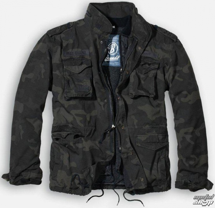 jacket mens winter BRANDIT - M65 Giant - Darkcamo