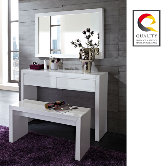 Marvelous Modern White Dressing Table